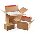 Pahvilaatikot, muuttolaatikot, postitusputket ja muut pakkaustarvikkeet edullisesti verkkokaupasta