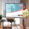 Halpa valkokangas eli projektorikangas seinään kattoon tai jalustalla hinta tarjous toimistoon, videotykki ja videotykkiteline valkokankaat ja videotykkitelineet toimistoon
