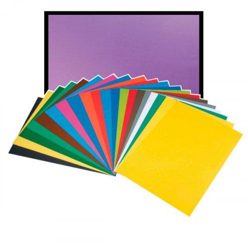 Violetti kartonki 50x70cm 270g edullisesti Proficientin verkkokaupasta. Kartongin läpivärjätty paperi sopii hyvin erillaiseen askarteluun. 100% kierrätetty ekologinen värikartonki.