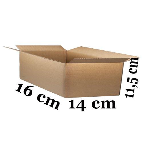 pieni Pahvilaatikko ruskea 16cm x 14cm x 11,5cm pahvilaatikot hinta tarjous